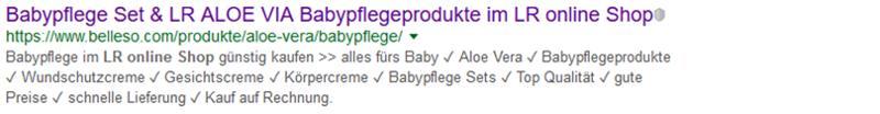 Bild mit dem Suchergebnis zu LR Babypflege
