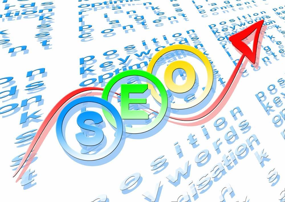 Grafik SEO Optimierung Experte hilft Google Ranking verbessern