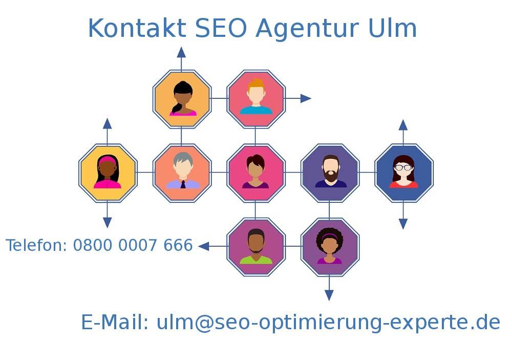 Auf dem Foto befinden sich die Daten Ihrer SEO Agentur Ulm