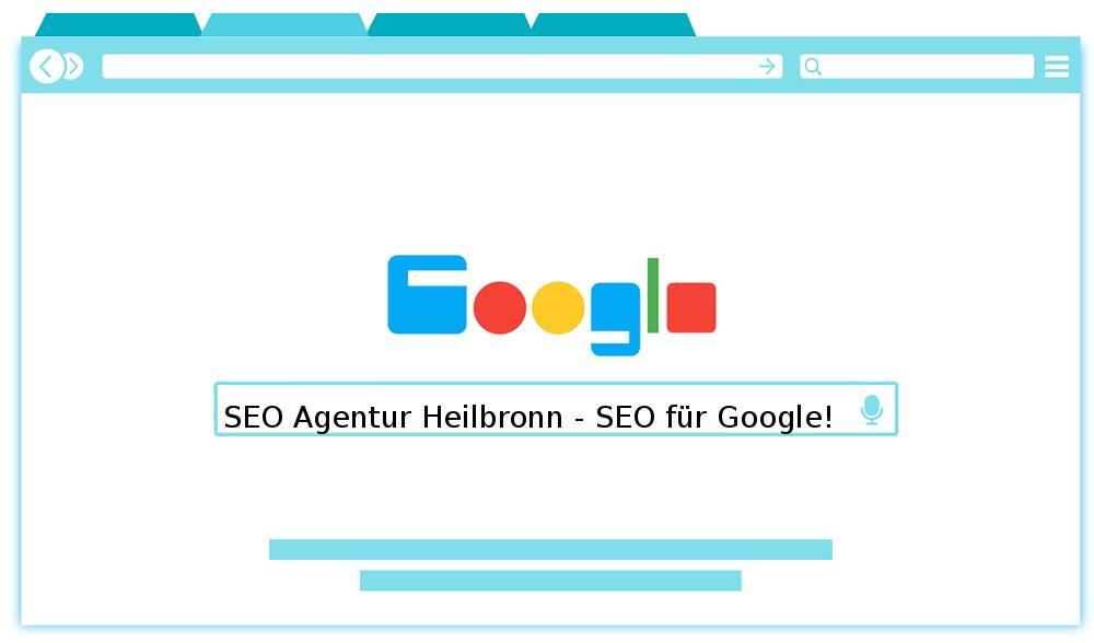 Auf dem Foto befindet sich das Motto der SEO Agentur Heilbronn