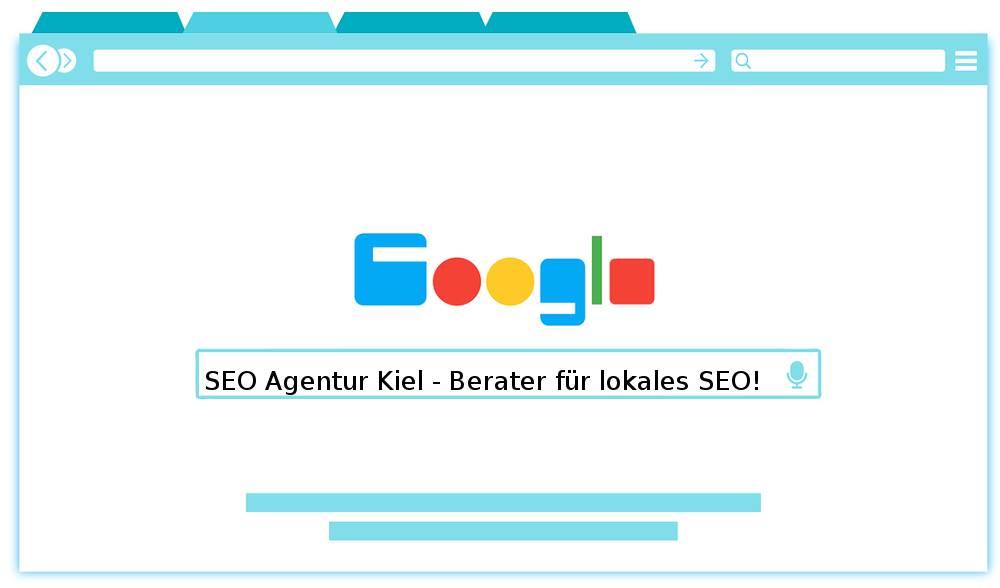 Auf dem Bild befindet sich die Devise der SEO Agentur Kiel