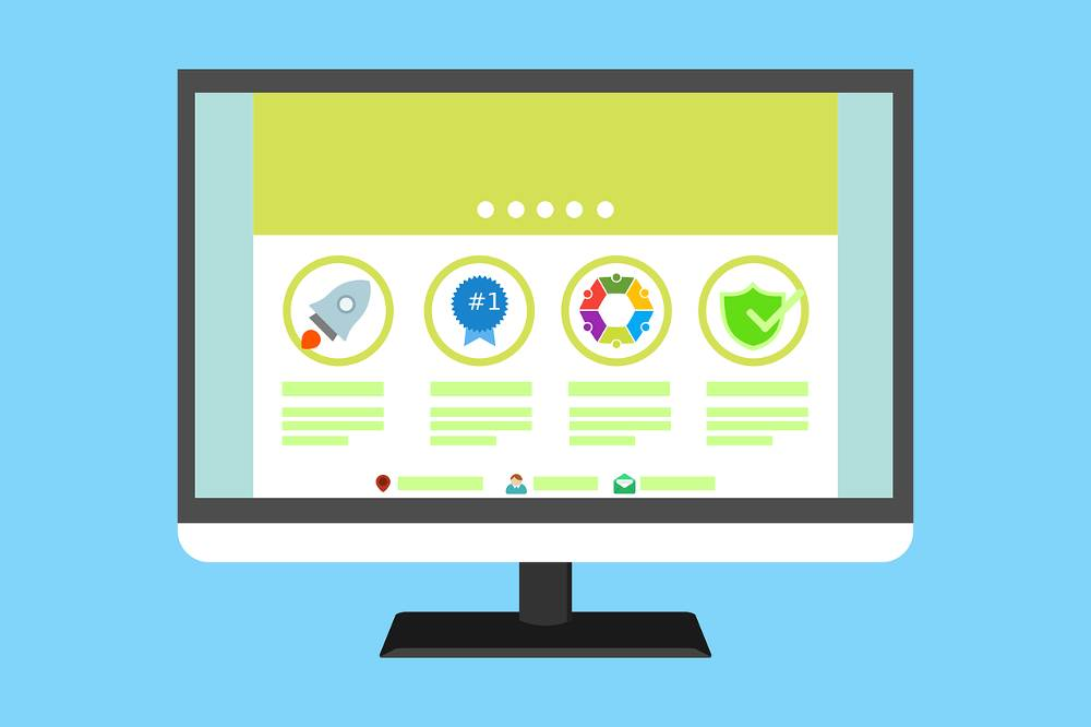 Grafik mit Symbolen zur Thematik 111 Kriterien für ein besseres Ranking 2019 - SEO Checkliste als PDF Download
