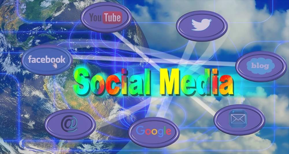 Grafiken verschiedener sozialer Netzwerke für die Themen Webdesign Agentur NRW – Ihre Webagentur für Nordrhein-Westfalen