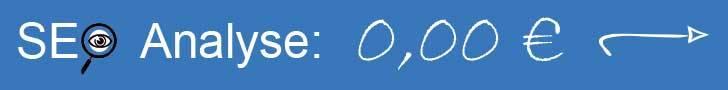 Button mit Link zur kostenlosen SEO-Analyse
